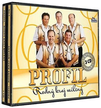 Profil - Rodný kraj milený - 3 CD