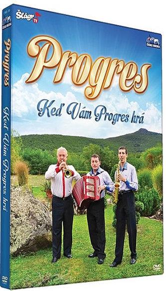 Progres - Keď Vám Progres hrá  - DVD