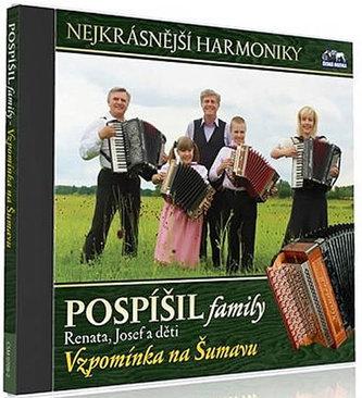 Pospíšil family - Vzpomínka na Šumavu - 1 CD