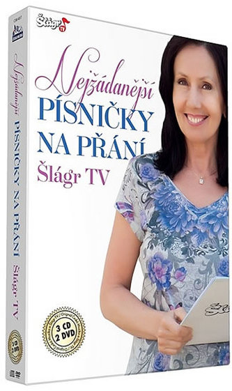 Písničky na přání TV Šlágr - CD+DVD
