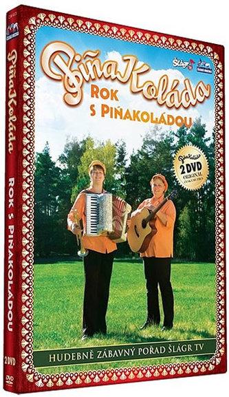 Piňa Koláda - Rok s Piňakoládou - 2 DVD
