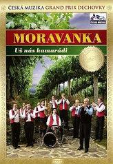 Moravanka - Už nás kamarádi - DVD