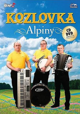 ČESKÁ MUZIKA - Kozlovka - Alpiny - CD+DVD