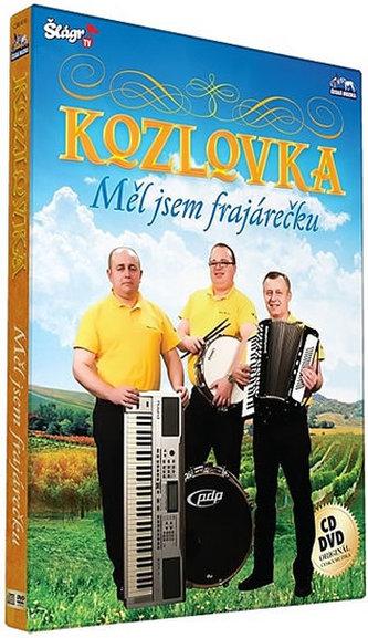 ČESKÁ MUZIKA - Kozlovka - Měl jsem frajarečku - CD+DVD