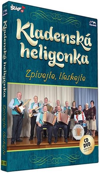 Kladenská Heligonka - Zpívejte - CD+DVD