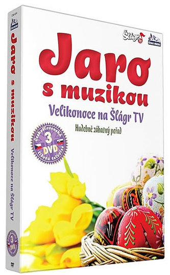 Jaro s muzikou – Velikonoce 2013 - 3 DVD