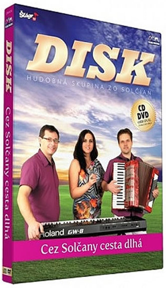 Disk - Cez Solčany cesta dlha - CD+DVD
