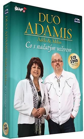 ČESKÁ MUZIKA - Duo Adamis - Co s načatým večerem - CD+DVD