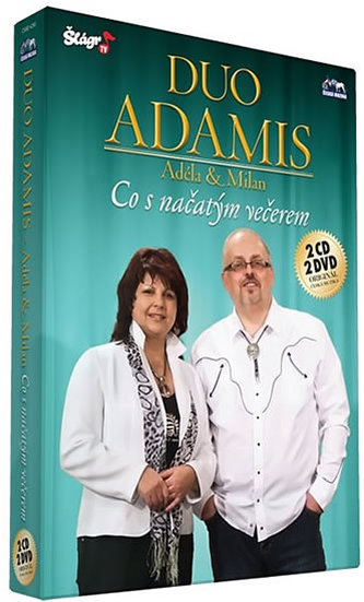 Duo Adamis - Co s načatým večerem - CD+DVD