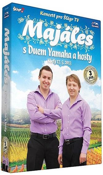 Duo Yamaha - Majáles s Duem Yamaha a hosty - 3 DVD