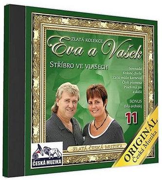 Eva a Vašek 11 -Střibro ve vlasech - 1 CD