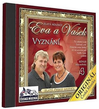 Eva a Vašek 4 - Vyznání - 1 CD - neuveden