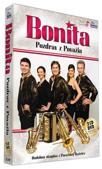 Bonita - Pozdrav z Povážia - CD+DVD