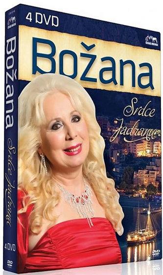 Božana - Srdce Jadranu - 4 DVD