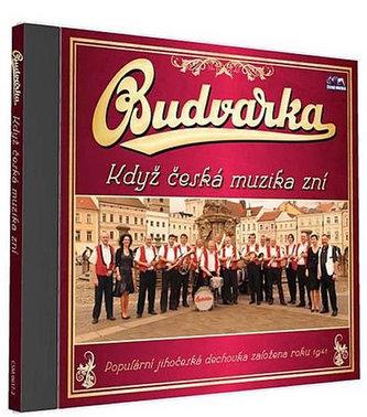 Budvarka - Když česká muzika zní - 1 CD