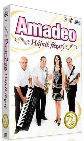 ČESKÁ MUZIKA - Amadeo - Hájnik fúzatý - 4 CD