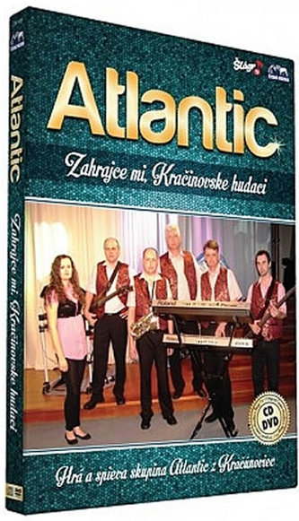 Atlantic - Zahrajce mi, Kračinovske hudáci - CD+DVD