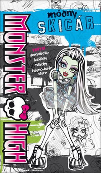 Monster High Módny skicár