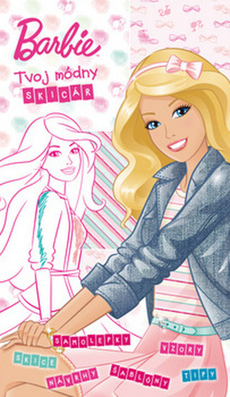 Barbie Tvoj módny skicár