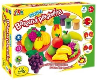 Barevná plastelína Ovoce
