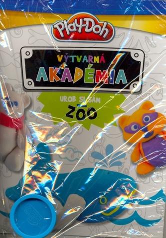 Play-Doh Výtvarná akadémia Urob si sám Zoo