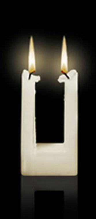Svíčka Alusi Quadra 1