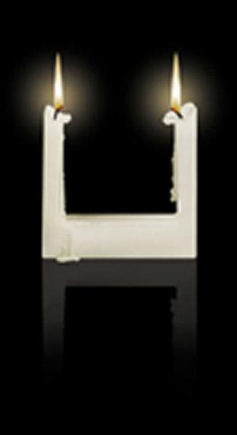 Svíčka Alusi Quadra 3