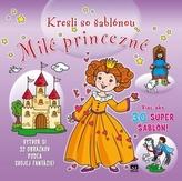 Kresli so šablónou Milé princezné
