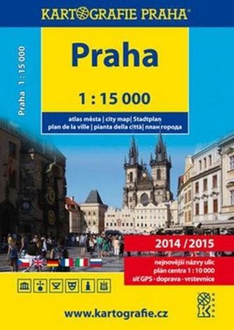 Praha atlas města 2014/2015