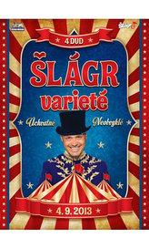 Šlágr Varieté - 4 DVD