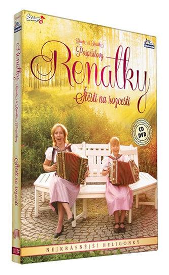 Renalky - Štěstí na rozcestí - CD+DVD (Renata a Renatka Pospíšilovy) - neuveden