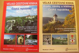 Balíček 2ks Česká republika + Hrady, zámky a kláštery České reubliky