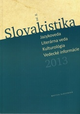 Slovakistika 2013