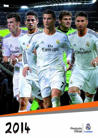 Kalendář 2014 - Real Madrid