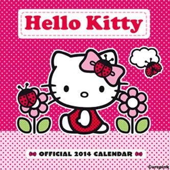 Kalendář 2014 - Hello Kitty