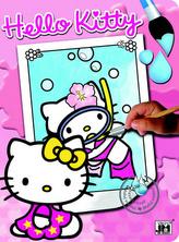 Hello Kitty 1 - Vodové omalovánky A4