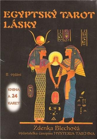 Egyptský tarot lásky (kniha + sada karet)
