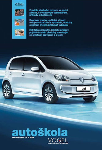 Autoškola 2013 - 3 sešity (Pravidla, předpisy + Konstrukcem, údržba, teorie jízdy + Testy) + CD,  aktualiz.k 1.7.2013