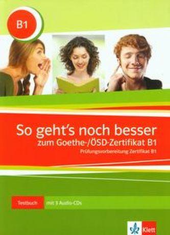 So geht´snoch besser zum Goethe- ÖSD-Zertifikat B1
