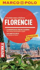 Florencie - Průvodce se skládací mapou