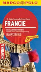 Francie - Průvodce se skládací mapou
