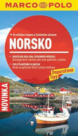Norsko - Průvodce se skládací mapou