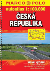Česká republika - autoatlas 1:100.000
