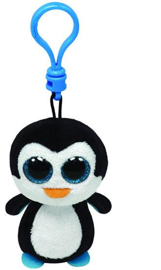 Plyš očka přívěšek tučňák