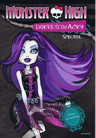 Monster High Dokreslovačky Specttra a Rochelle