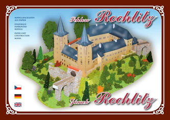 Zámek Rochlitz - Stavebnice papírového modelu