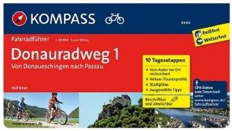 Kompass Fahrradführer Donauradweg. Bd.1
