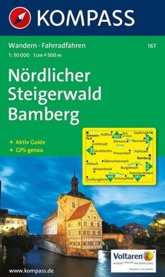 Nördlicher Steigerwald  167   NKOM 1:50T