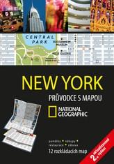 New York Průvodce s mapou National Geographic
