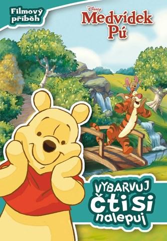 Medvídek Pú - Filmový příběh: vybarvuj, čti si, nalepuj